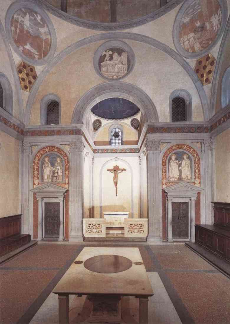 Brunelleschi Old Sacristy LA SACRESTIA VECCHIA (...