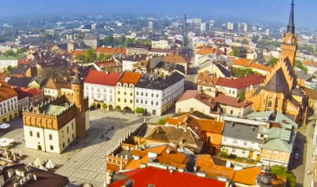Tarnów: incantevole città della Polonia