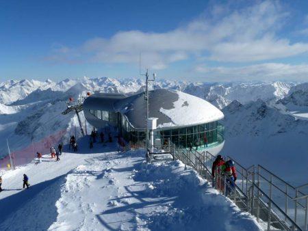Sciare in Austria: le meraviglie del ghiacciaio del Pitztal