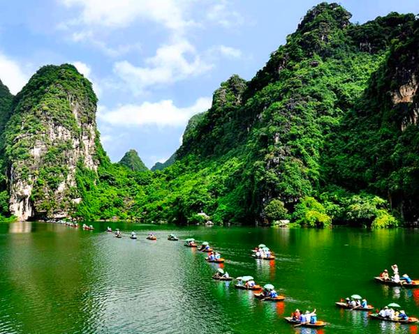 Il complesso paesaggistico di Tràng An, sito UNESCO nel Vietnam #fotospettacolari
