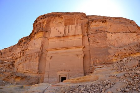 Il sito archeologico di Madain Saleh, patrimonio UNESCO nell'Arabia Saudita