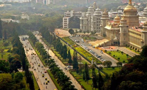 Veduta di Bangalore, India #fotospettacolari