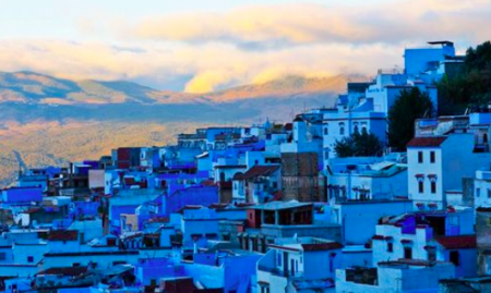 Case Blu Marocco : Chefchaouen: la splendida città blu del marocco