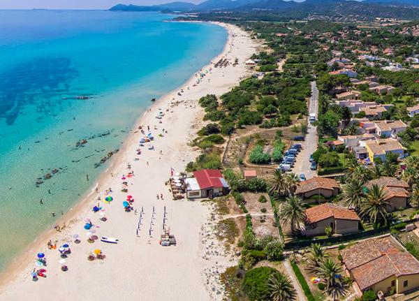 Veduta della spiaggia di Costa Rei, Sardegna #fotospettacolari