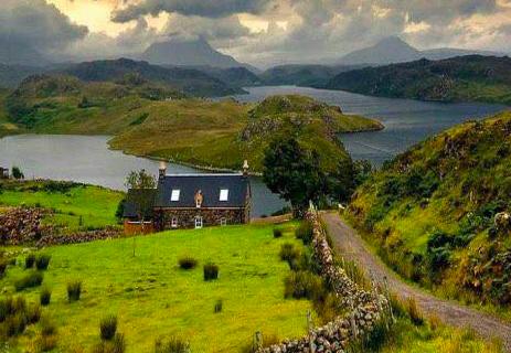 Veduta della Highlands scozzesi – #fotospettacolari