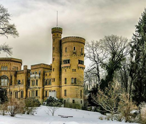 Il castello di Babelsberg a Potsdam, nei pressi di Berlino #fotospettacolari