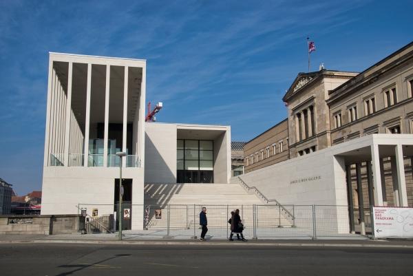 La James-Simon Galerie arricchisce l'Isola dei musei a Berlino