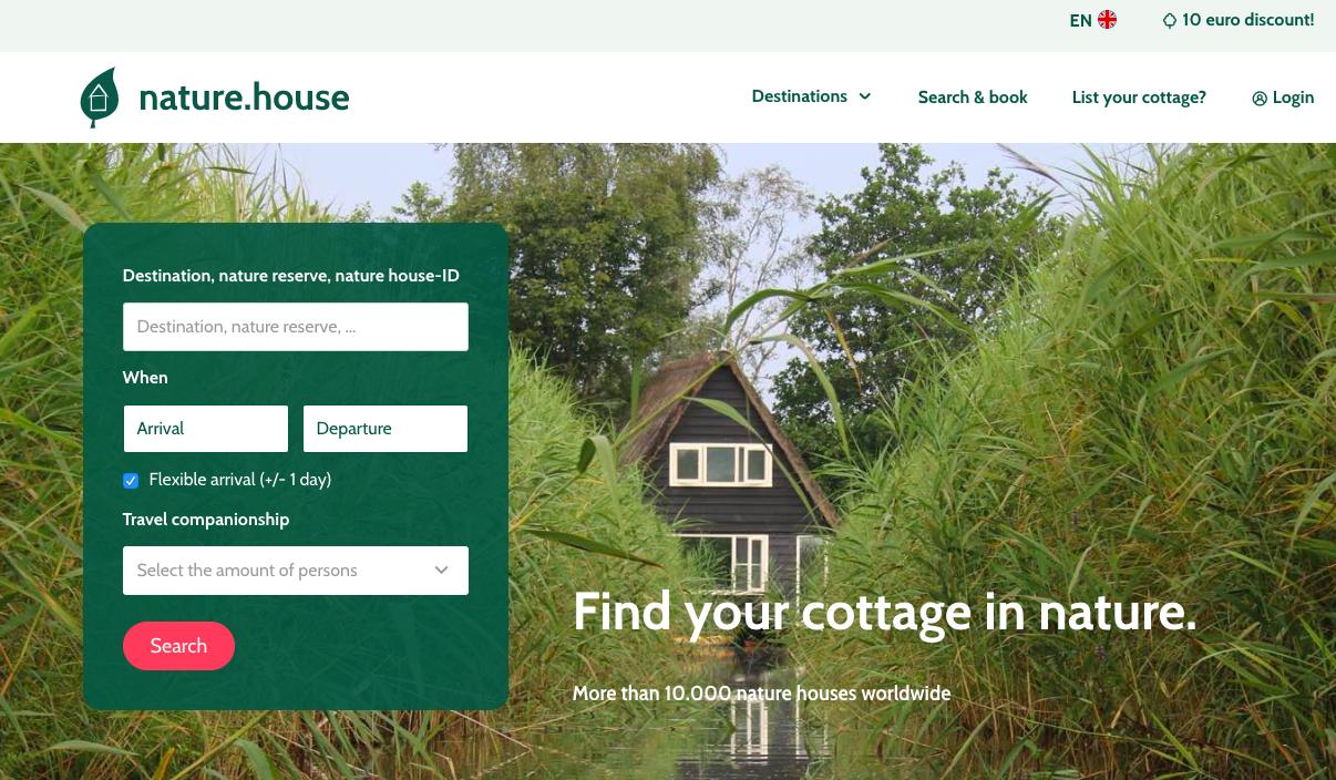 Nature.house: case nella natura per una vacanza rilassante e sostenibile