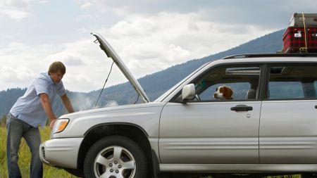 preparare auto per viaggio